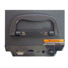 Мобильная колонка-плеер MS-235BT Bluetooth /USB /FM /подсветка /microSD (уценка - трещина) Где купить