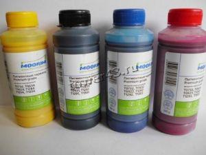 Чернила INKO для Epson серии T/TX КОМПЛЕКТ 4цв, (4*100ml) pigment Цена