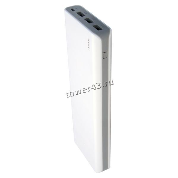 Внешний мобильный аккумулятор IconBit FTB20000PB 20000mAh белый