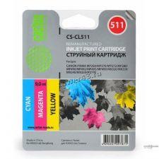 Чернила CACTUS для принтеров Canon CL-511/CL-441 цветные (3х30ml, желтый, синий, красный) Купить