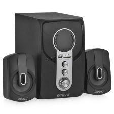 Колонки GINZZU GM-405, 40W=20W+2x10W /блютуз /USB/SD /FM-радио /пульт ДУ Купить