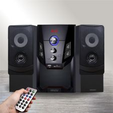 Колонки GINZZU GM-415, 50W=30W+2x10W /блютуз /USB/SD /FM-радио /пульт ДУ Купить