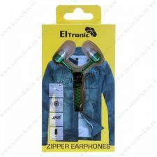 Наушники+микрофон ELTRONIC ZIPPER вкладыши вакуумные Цена