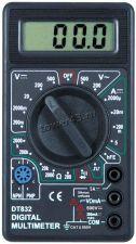 Мультиметр DT832 S-LINE (тест диодов, транзисторов, измерение тока, напряжения, сопротивления) Цена