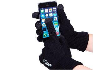 Перчатки для сенсорных экранов iGlove, черные Цена