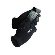 Перчатки для сенсорных экранов iGlove, черные Цены