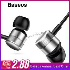 Наушники+микрофон BASEUS (ENCOK) H04 вкладыши Купить