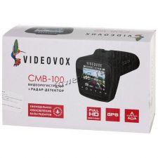 """Автомобильный видеорегистратор VIDEOVOX CMB-100 2.4""""+радар-детектор +GPS, 1920х1080х30к/с, подсказки Цены"""