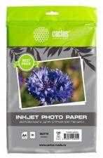 Бумага Фотобумага CACTUS Photo Paper (120гр, 50л., одност., A4, матовая) Купить