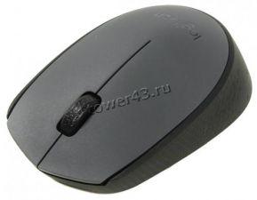 Мышь Logitech M170 USB (1000dpi) беспроводная, до 12мес без замены батарей  Retail Купить