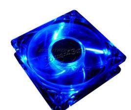 Вентилятор 120х120 прозрачный с подсветкой (синяя или полноцветная) 20dBa, 1500rpm, Molex, RTL Купить