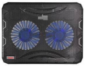 "Подставка под ноутбук охлаждающая Buro BU-LCP156-B214 с LED подсветкой 15,6"", 2*Fan 14cm Купить"