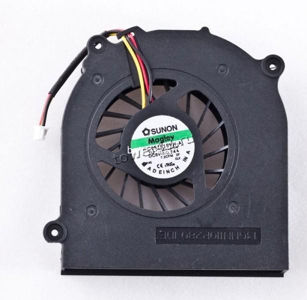 Вентилятор для ноутбука DELL c радиатором (sunon gc055515vh-a)