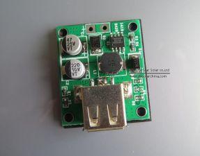 Регулятор напряжения для PowerBank с USB выходом, вход 6V-20V, выход 5V 2A, с корпусом Купить