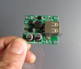 Регулятор напряжения для PowerBank с USB выходом, вход 6V-20V, выход 5V 2A, с корпусом Цена