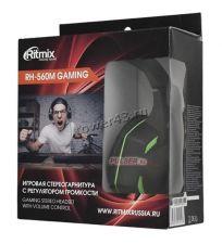 Наушники+микрофон Ritmix RH-560M с регулятором громкости, шнур 2м Цена