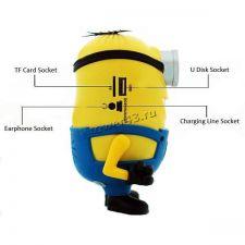 Мобильная колонка-плеер Крошка Дэйв USB /Micro SD +FM (модели  ) Цены
