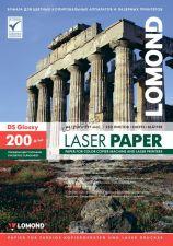 Бумага Lomond 200г/кв.м A4 250стр. глянец, двухсторонняя для лазерных принтеров и копиров Купить