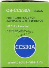 Картридж HP CС530A для Color LaserJet CP2025 /CM2320mfp, черный, 3500стр., неoригинальный Купить