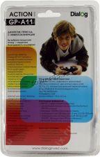 Геймпад Dialog Action GP-A11, вибрация, 12 кнопок, черный Цена
