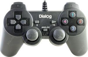 Геймпад Dialog Action GP-A11, вибрация, 12 кнопок, черный Цены