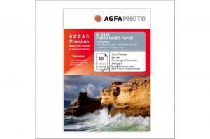 Бумага Фотобумага AGFA Premium Photo Quality Glossy Paper (210гр, A4, 50л., глянцевая) Купить