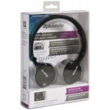 Наушники+микрофон полноразмерные Bluetooth Defender FreeMotion B601, до 10м Цена
