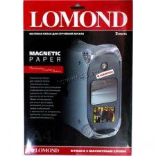 Бумага Фотобумага Lomond Matte Photo Magnetic (2л., A4, матовая, магнитная) Купить