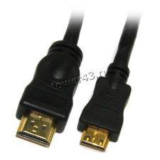 Кабель для монитора HDMI (19pin) - miniHDMI, 1м. Купить