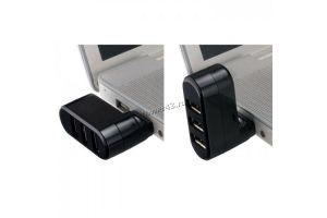 Контроллер внешний USB2.0 Hub Perfeo x3 PF-VI-H024 (цвет в ассортименте) Цена