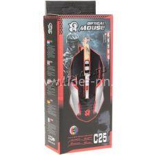 Мышь C25/C29 игровая USB 800 /1600 /2400 /3200DPI, LED-подсветка Цена