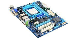 Мат.плата Soc-AM3+ Gigabyte GA-MA78LMT-S2 R2, AMD760G, 2DDR3, 2PCI-E, DVI, DSUB, GLAN, mATX Rtl Купить
