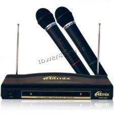 Микрофон RITMIX RWM-220 комплект 2-х радиомикрофонов Купить