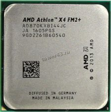 Процессор AMD Athlon II X4 870K Godavari FM2+, 3.9-4,1GHz, 28nm, 95W, unlocked, 4ядерный Купить