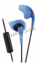Наушники+Микрофон JVC HA-ENR15 вкладыши синие, спортивные, влагозащищенные Купить