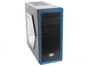 Корпус MidiTower Deepcool TESSERACT SW без БП, боковое окно, черный, ATX Купить