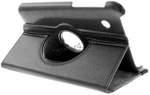 Чехол для планшета 7'' Samsung P3110 КНИЖКА (черный), с поворотным механизмом) Купить