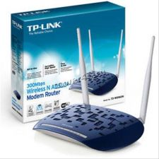 Модем ADSL TP-Link TD-W8960N ADSL2+ WiFi 802.11n 300Mb/s 4xLAN Retail Купить