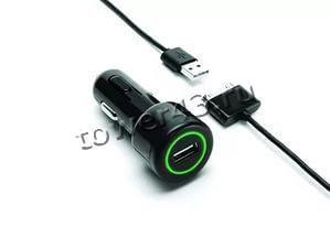Автомобильное зарядное устройство Eltronic для IPhone/iPad, 650mA Купить