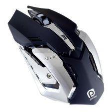 Мышь PERFEO SHOOTER PF-1709-GM игровая, 800 /1200 /1600 /2400dpi, USB, 6кнопок, подсветка Купить