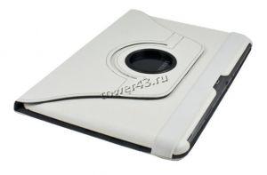 Чехол для планшета 7'' Samsung P3110 КНИЖКА (белый), с поворотным механизмом) Купить