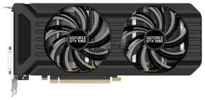 Видеокарта GeForce 1060GTX 6Gb <PCI-E> DVI HDMI 3xDP HDCP DDR5-192Bit DUAL 1505/8000 Palit oem Купить