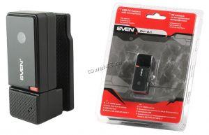 Веб-камера Sven CU-3.1 USB2.0 640x480 микрофон, черная Купить