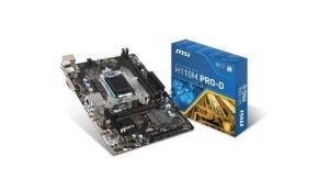 Мат.плата S-1151 MSI H110M PRO-D PCI-Ex16, AC`97 8ch(7.1) GbLAN, DVI Intel H110 2xDDR4 mATX Retail Купить