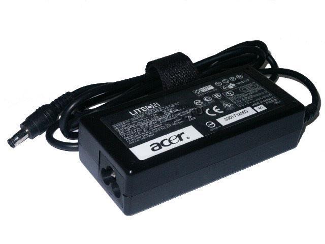 Сетевой адаптер питания для ноутбуков ACER оригинал выход 19В, 3.42A, 65Вт, 5.5мм х 1.7мм