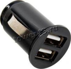 Автомобильное зарядное устройство 2 выхода USB 2,1+1АmA Eltronic Faster /Allison ALS-A613 Retail Купить