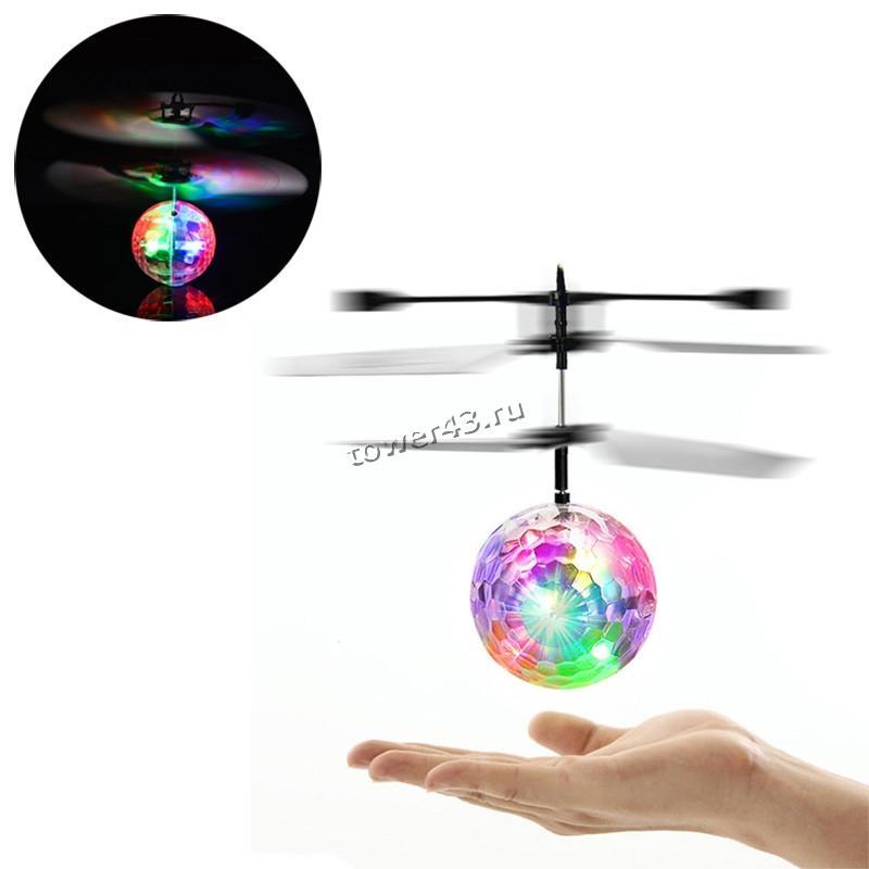 Игрушка Летающий светящийся шар с пультом ДУ (от 12 лет)