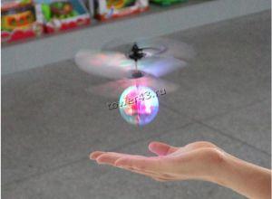 Игрушка Летающий светящийся шар с пультом ДУ (от 12 лет) Вятские Поляны