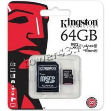 Память microSDXC 64Gb Class10 Kingston Retail Купить