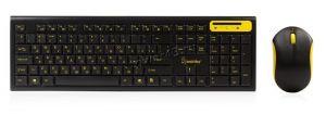 Комплект беспроводной SmartBuy SBC-23350AG-KY мультимедиа (чёрно-желтый) клавиатура +мышь Цена